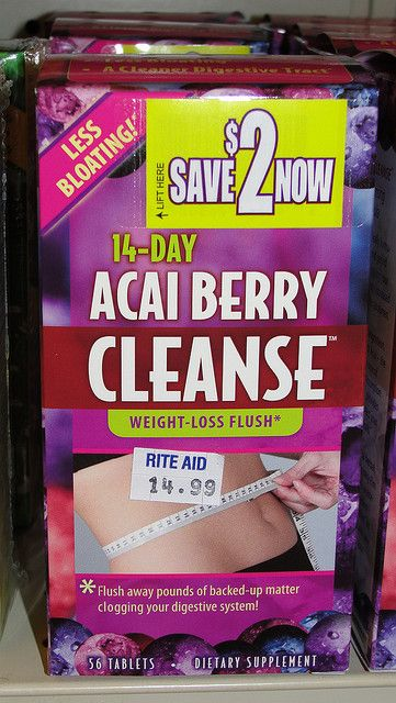 Just at $14.99, this colon cleanse and weight loss product seems to be a bargain...until you think of acai berry scams.     Learn about acai berry weight loss
