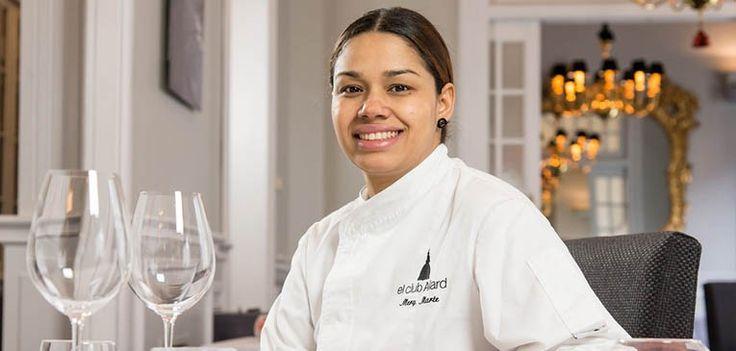 María Marte, presidenta del jurado del Campeonato Nacional de Tapas de Valladolid   Hit Cooking