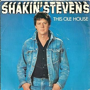 Shakin' Stevens - This Ole House (1981 vinyl picture sleeve) // Yep, this was one of my first records :) My very first record was 'Summer Nights' with John Travolta and Olivia Newton-John..!