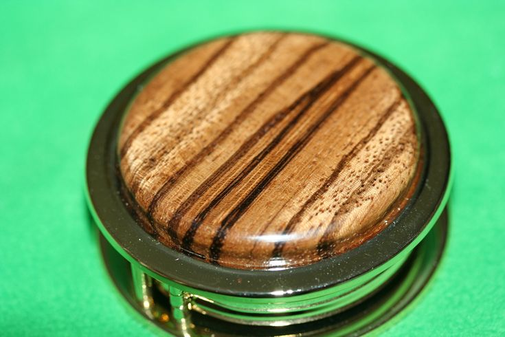 Handcrafted African Zebrawood Magnifying Glass Paperweight in a Beautiful 24 ct Gold Finish by Witmer Enterprises, $32.99 at witmerenterprises.com and also @Etsy