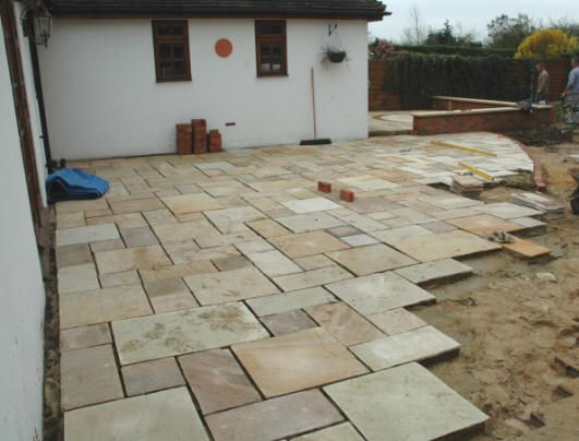 Different Stones For Patios | Like The Color And Different Size And Color  Stone