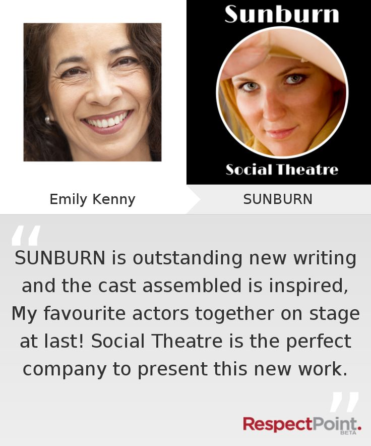 Click through to see what Emily Kenny had to say about SUNBURN on RespectPoint.com.