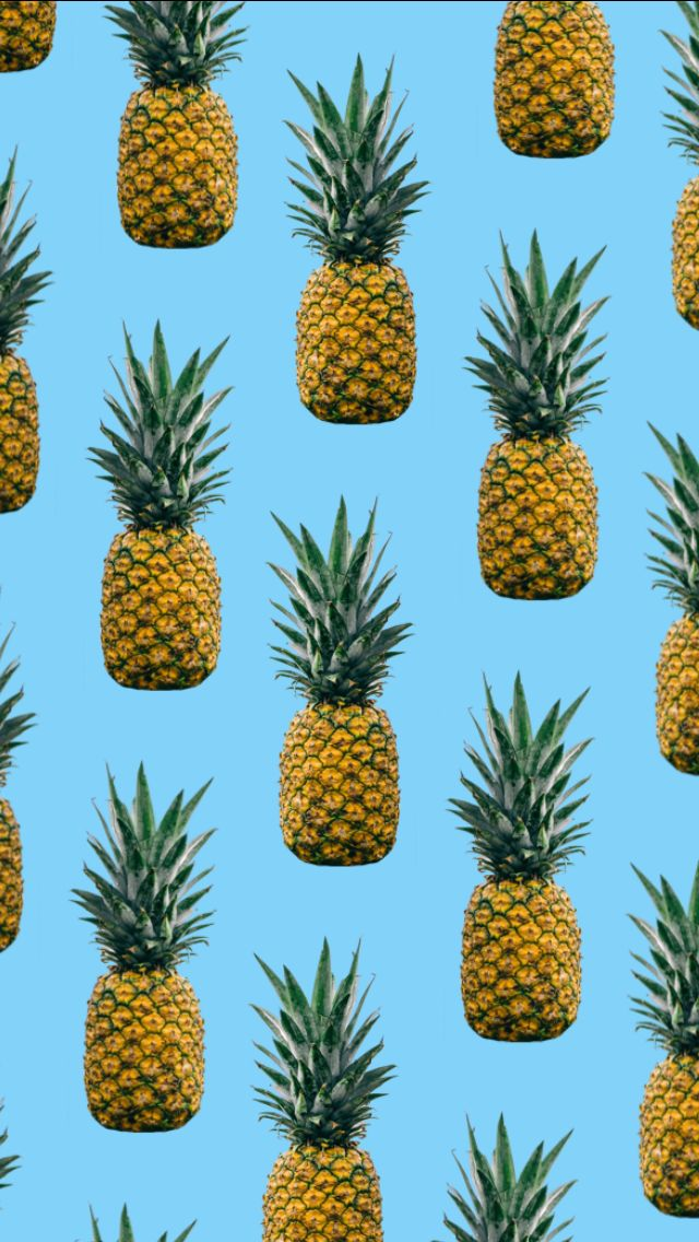 Wallpaper Pineapple Size iPhone 5s Pineapple