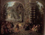 """New artwork for sale! - """" Watteau Les Plaisirs Du Bal by Antoine Jean Watteau """" - http://ift.tt/2oyJJWC"""