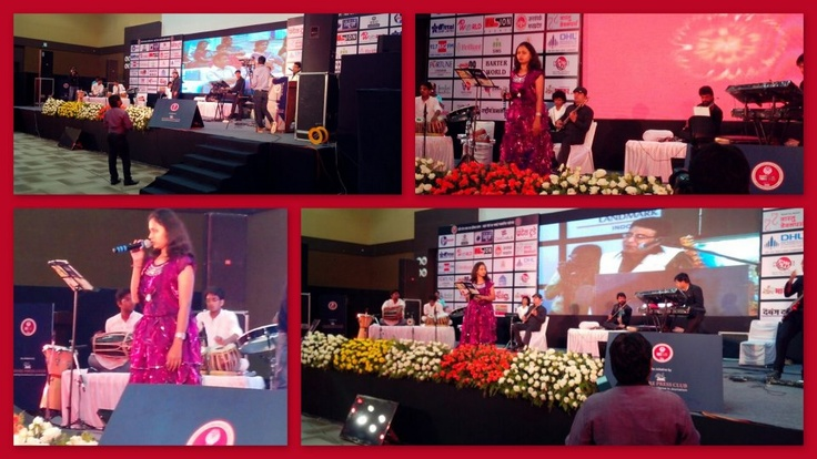 "Indore was mesmerized by the Lovely Sufi Songs @ ""Ishq Sufiyana"" event on the occasion of 50 Glorious events celebration @ Brilliant Convention Center !!"