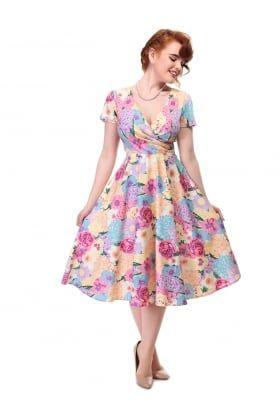 Maria English Garden Swing Dress
