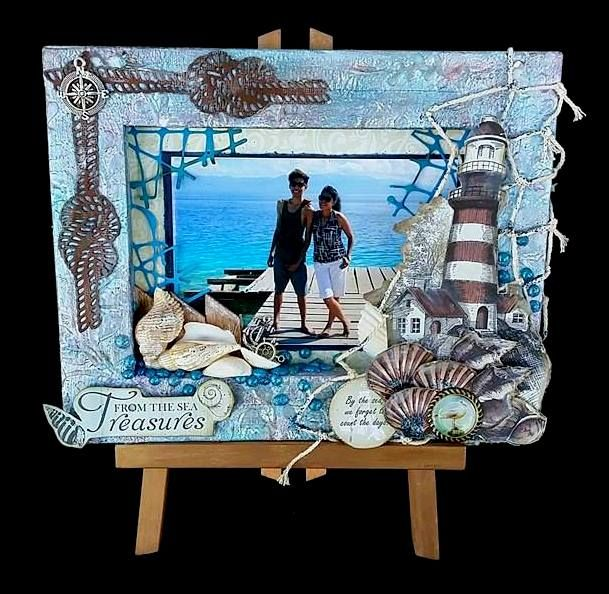 Artdeco Creations Brands: Guest Designer   Novita Ferris, Tresure From The Sea Canvas