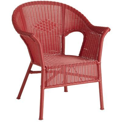 casbah chair red
