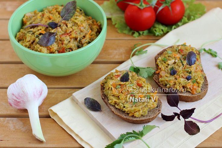Главное фото рецепта: Закусочная икра из кабачков