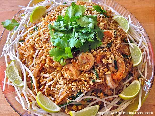 Pad Thai Recipe - I omitted quite a few things, but the basic recipe is really good.