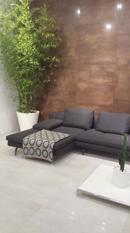 Linea Granitoker, serie Steeltech #CasalgrandePadana #architecture #design #interiordesign #ceramics #ceramica #floor #pavimenti