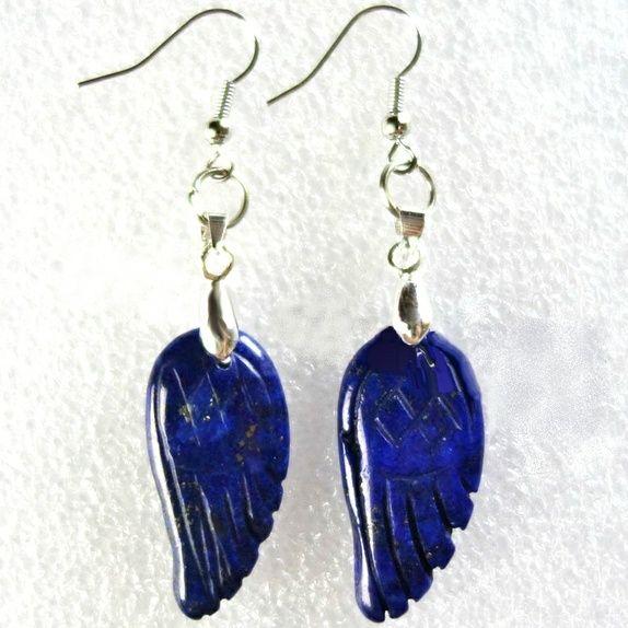 Lapis Lazuli ørepynt