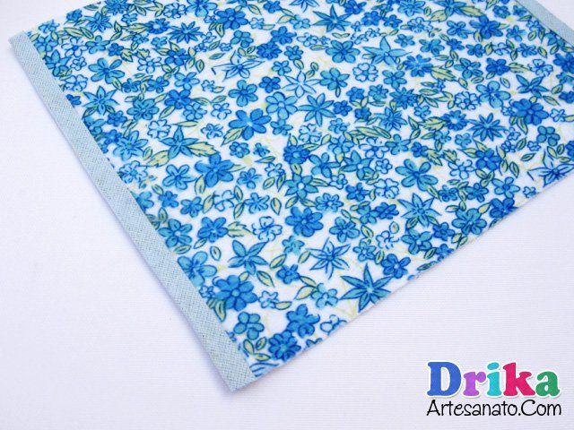 Como fazer porta lenço de papel em feltro sem costura