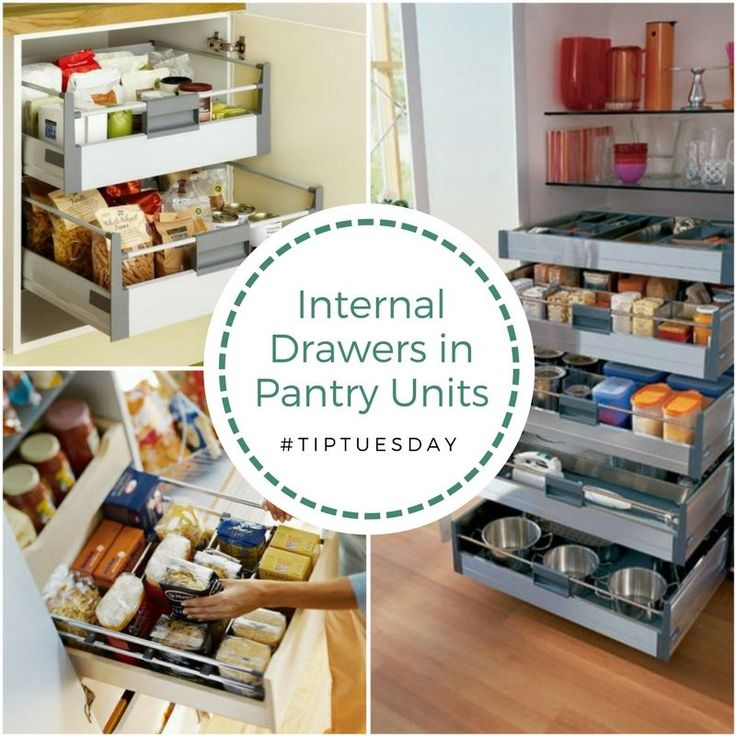 Tip Tuesday Stop searching in dark corners of the pantry for items that you need. By using internal drawers, items in the pantry come out to you. The variety of options available means every kitchen pantry unit can be customised.   Call us to to re-design your pantryt: ☎️ 072-204-4837 info@ergodesigns.co.za