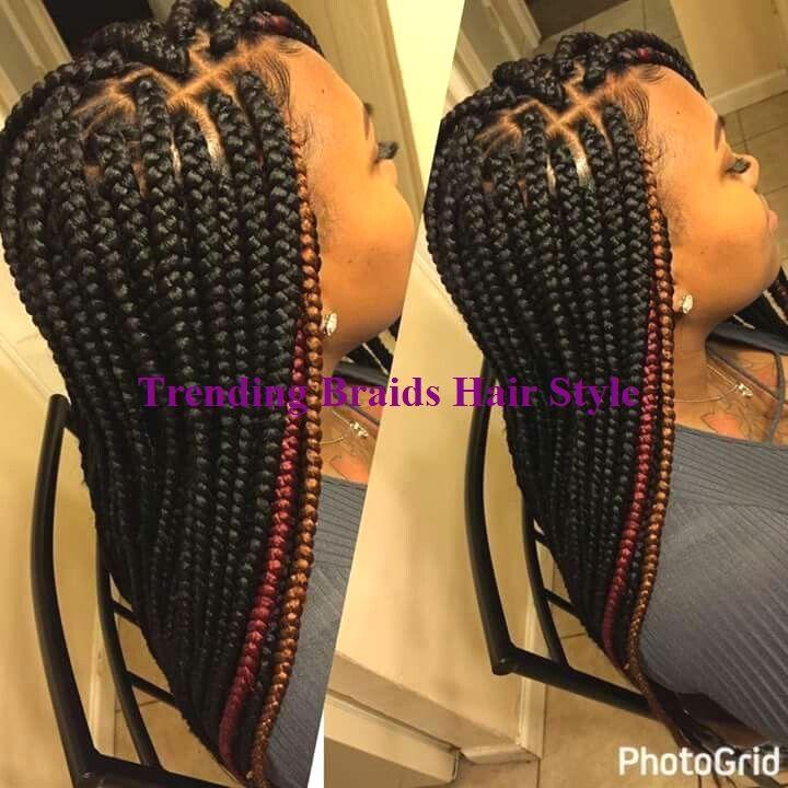 Simple & Trending Braids Hair Type Concepts #hairideas