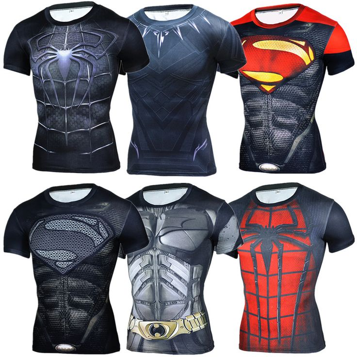 New 2017 Summer Fitness Comic Superhero Compression Shirt Superman Captain America 3D T Shirt Men Cossfit T-Shirt Brand Clothing #men, #hats, #watches, #belts, #fashion, #style