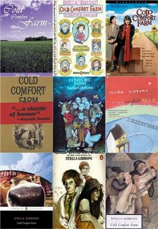 Cold Comfort Farm by Stella Gibbons: One of my all-time favorites