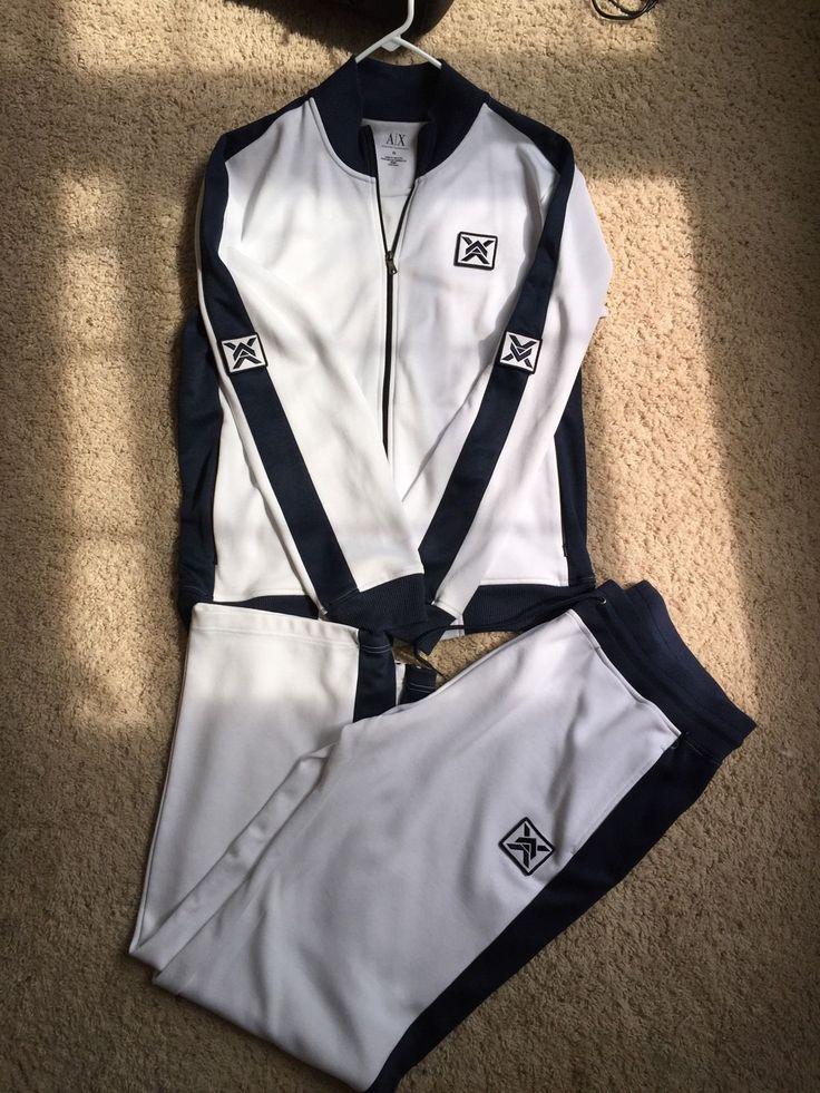 Mens Armani Exchange Sweatsuit Track Suit | eBay