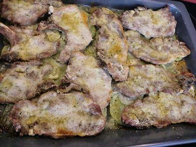 Mi Gran Comilona: Chuletas de cerdo al horno con patatas