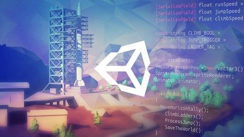 Game development & design made fun. Learn C# using the NEW Unity 2017. Your first 2D & 3D games for web & mobile.