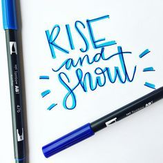 How to get started in hand lettering