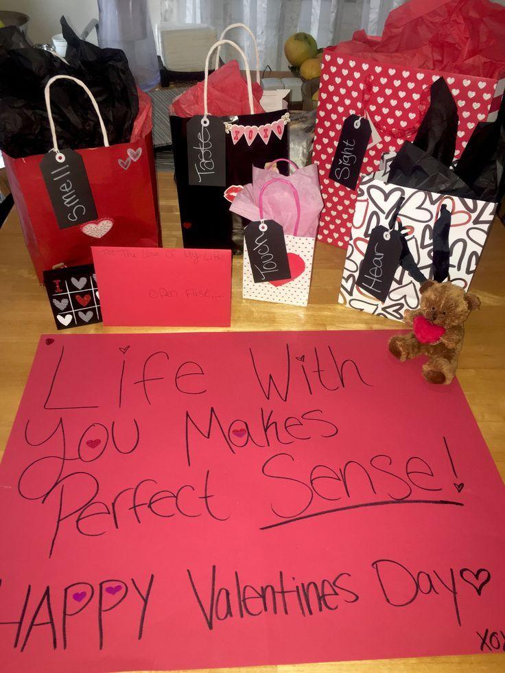 5 Senses Gift for him! Happy Valentine's Day babe♥️