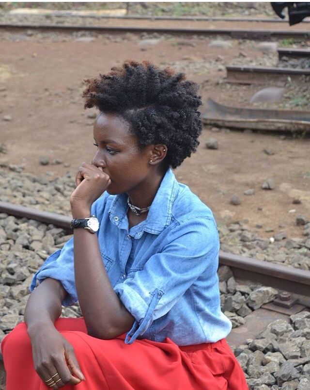 @wendy_osodo || tapered hair cut. Short natural hair. Short hairstyles for natural hair. Short hairstyles for 4c hair.