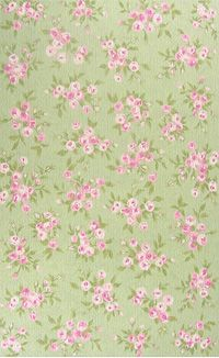 The Rug Market Kids Bouquet Blossom 11127 Pink And Green Area Rugs This Can