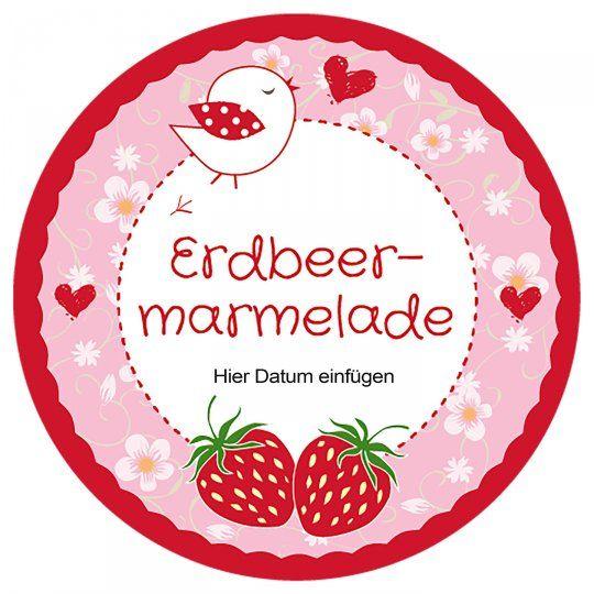 Marmeladenetiketten kostenlose Vorlagen