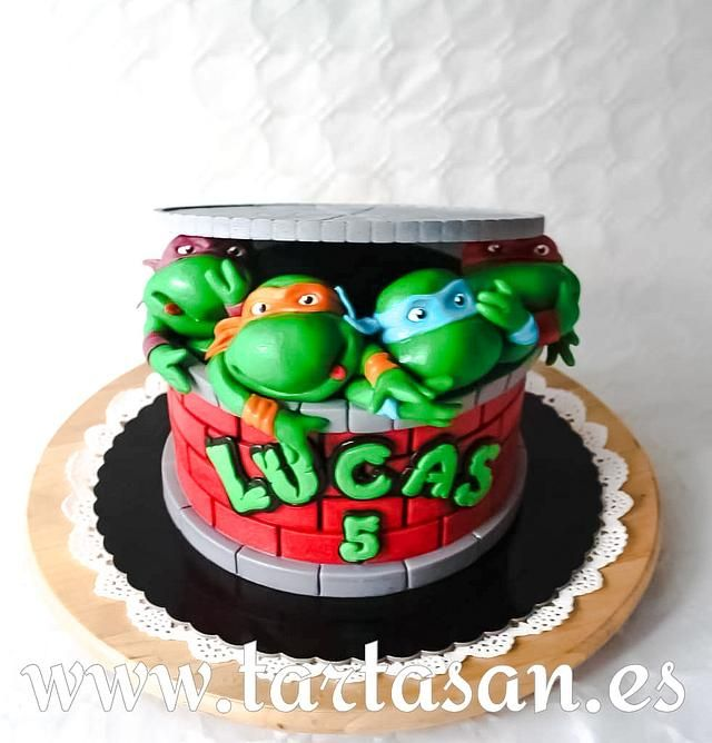 Ninja Turtles Ninja Turtle Birthday Cake Ninja Turtle Cake Ninja Turtle Cookies