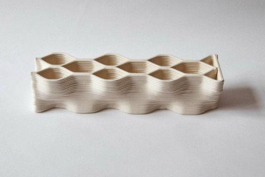 Nuevos materiales: Ladrillos cerámicos impresos en 3D para la construcción a gran escala,© Building Bytes