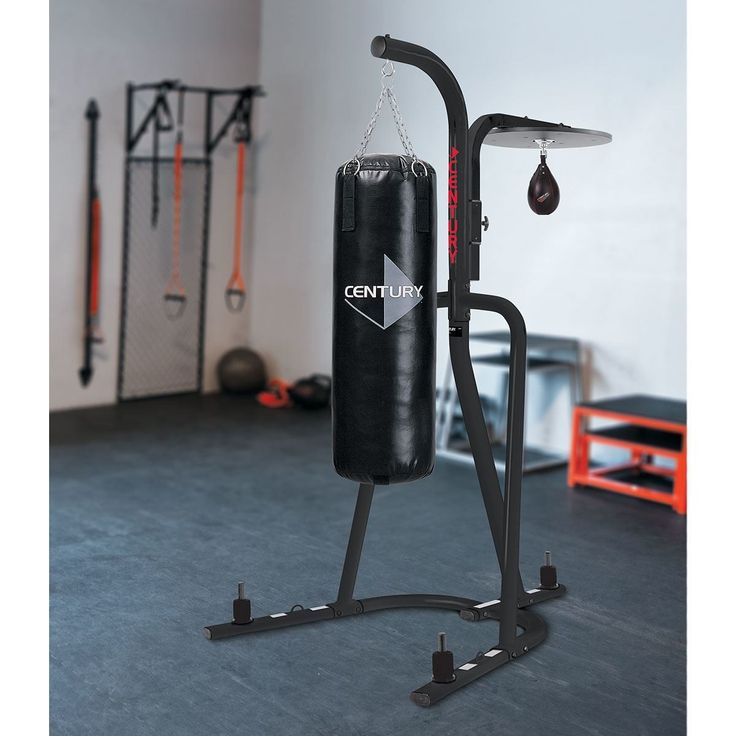 Punch Bag Stand with with speedball platform #punchbag #punchbagstand