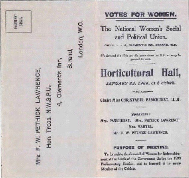 Celebrating this International womens day by looking into our archives and remembering an event at the halls in 1908 chaired by Christabel Pankhurst daughter of Emmeline Pankhurst #iwd2018 #internationalwomensday #internationalwomensday2018 #throwbackthursday #suffragettes #votesforwomen
