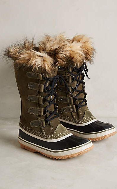 Sorel Joan of Arctic Boots #anthroregistry