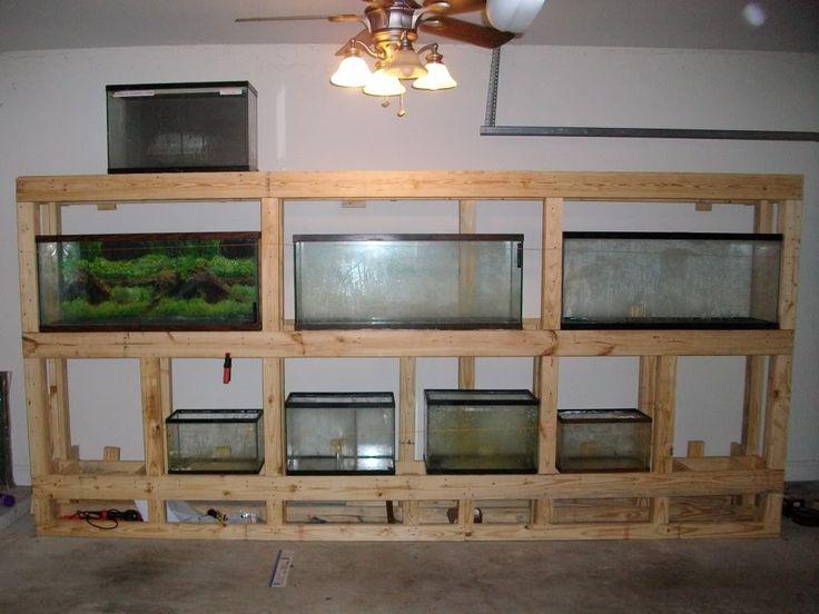 diy aquarium stands   Thread: DIY Multi aquarium stand (haha could see this in our house eventually)