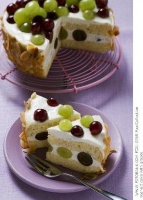 Dolci autunnali: torta di yogurt e uva