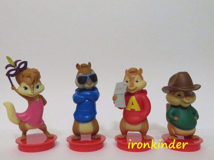 Alvin and the Chipmunks: The Road Chip Full set Cinema Movie Figure Topper | eBay