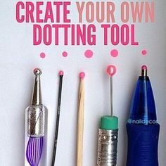 Want to create cool nail art but don't have the tools? Totally cool. | 44 Lazy…