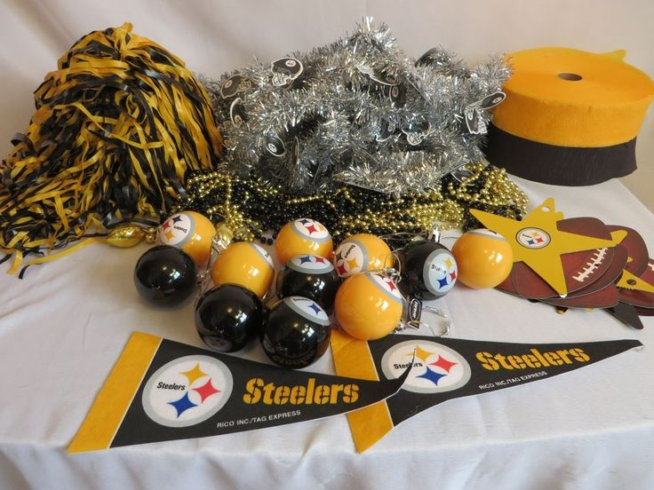 Pittsburgh Steelers Christmas Tree Decoration Kit