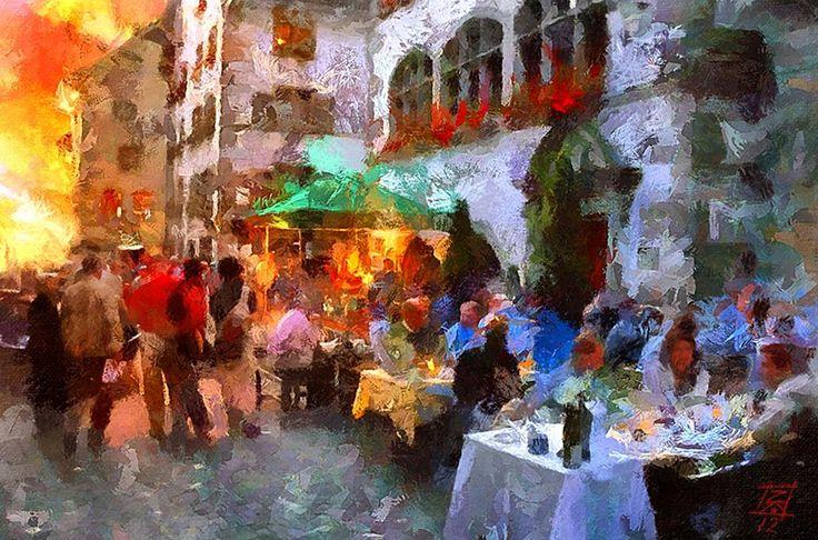 Artist: Tzviatko Kinchev Работы болгарского художника Цвиатко Кинчева в стиле импрессионизма — это цифровая живопись: они выполнены на компьютере, в программе Photoshop. Невероятно сочные творения художника подчеркивают красоту и яркость окружающего мира.