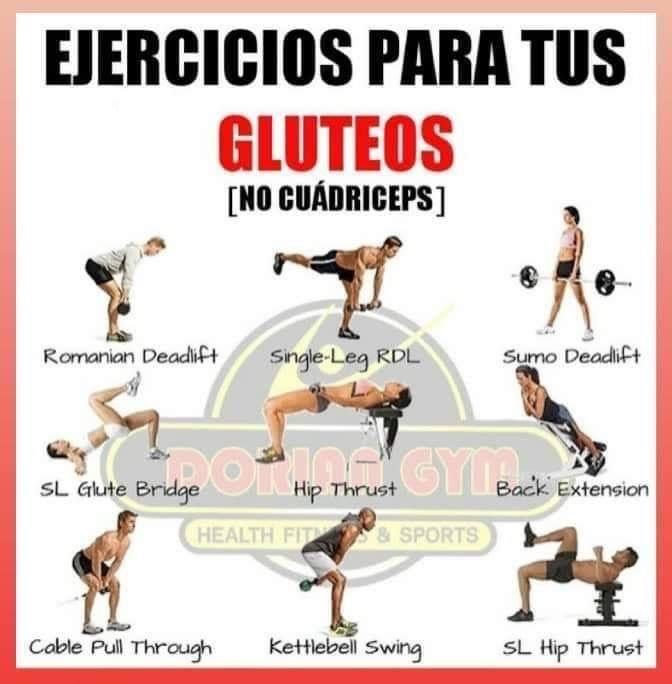 Pin De Adalí Zamudio En Workout Gluteos Cuadriceps Traseros