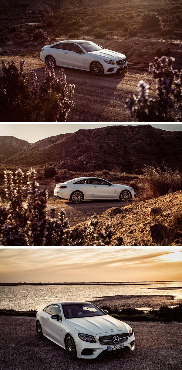 A trip like a dream with the Mercedes-Benz E-Class Coupé. Photos by Florian Haizmann (www.prismview.de) for #MBsocialcar