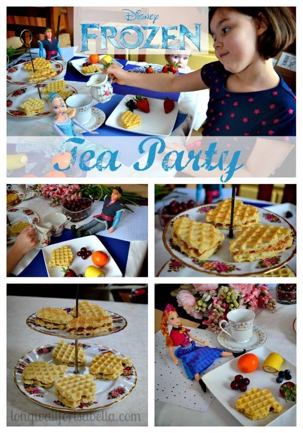 Disney FROZEN Tea Party {with food ideas} #FROZENFun #Cbais