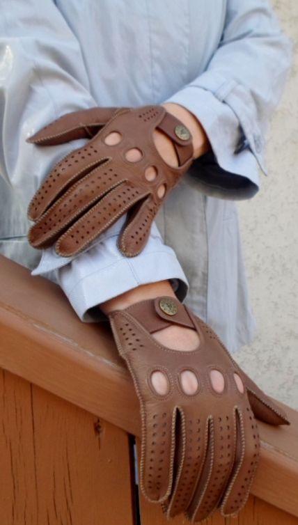 Deer leather Driving gloves. alpagloves.com