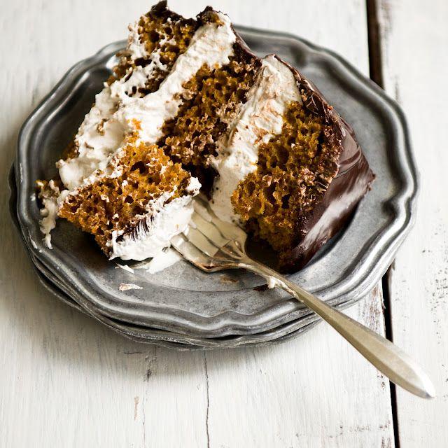 pumpkin s'mores cakePumpkin S More, Cake Recipe, Pumpkin Cakes, S More Cake, Pumpkin Recipe, Fall Recipe, Pumpkin Smores, Smores Cake, Pumpkin Dessert
