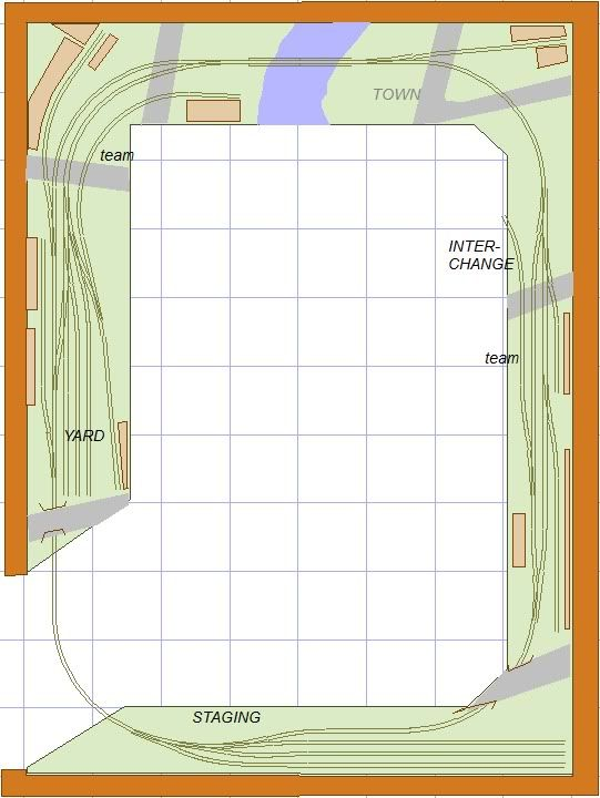Ho shelf plan train layouts bing images layout schematics pinterest layouts shelves and - Ho train layouts for small spaces image ...