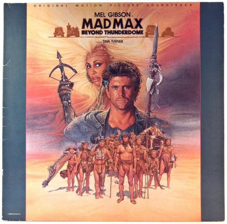Mad Max - Beyond Thunderdome - Original Motion Picture Soundtrack + Plakat