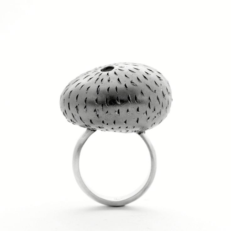 Four elements ring    Material: sterling silver, oxide