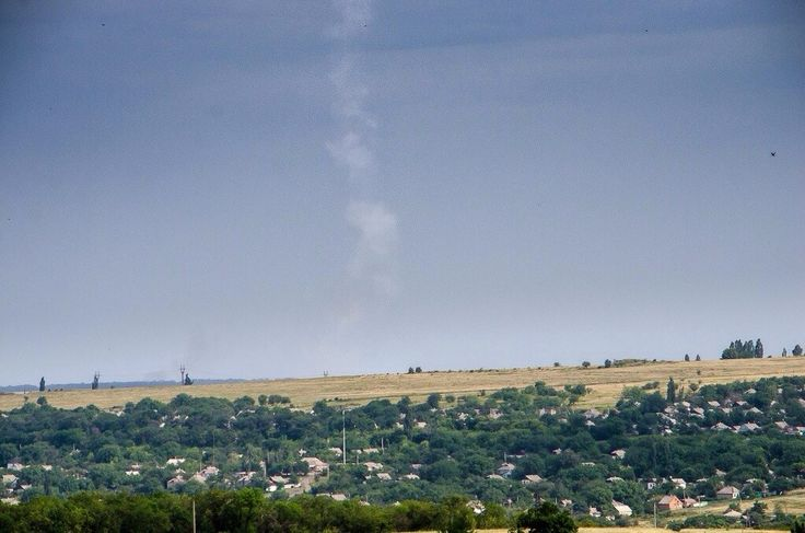 Ukraine@war: Interview with eyewitness who made the photo of the BUK trail!