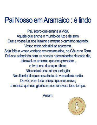 Pai Nosso em Aramaico